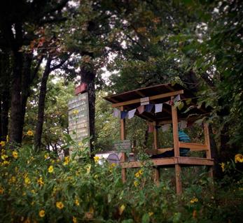 prayer shack